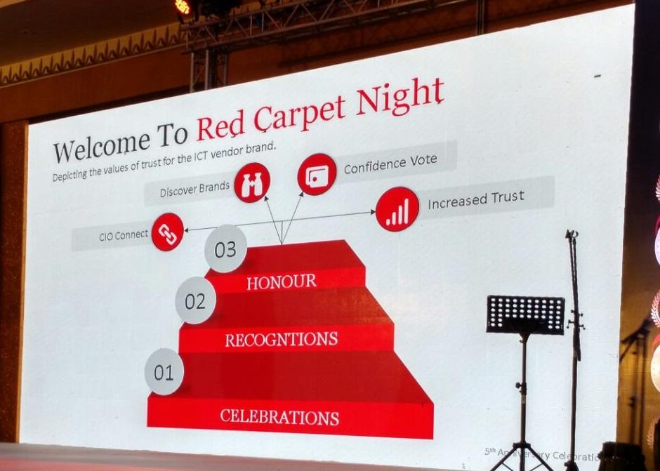 CIO Red carpet