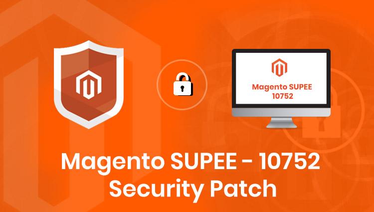 Magento 1 SUPEE-10752 Security Patch