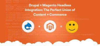 Drupal + Magento Headless Integration
