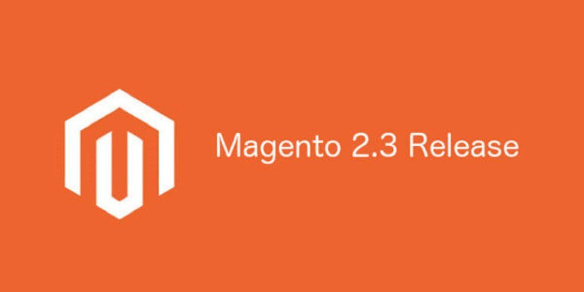 Magento2.3 release