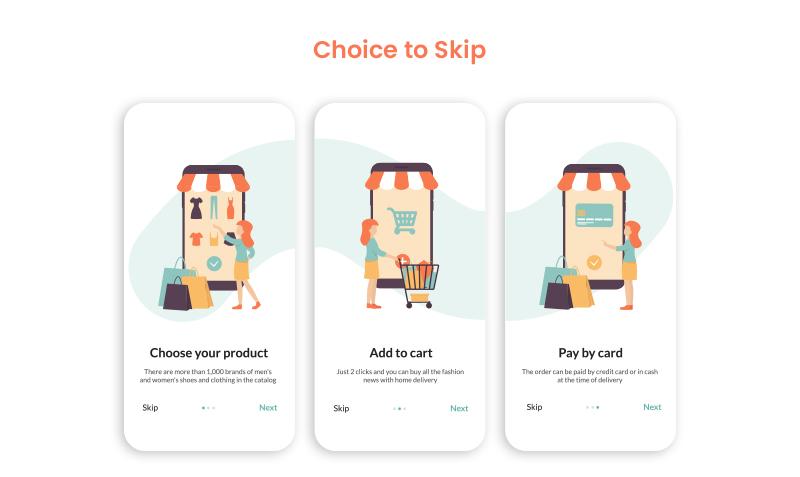 choice to skip
