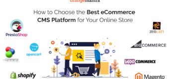 Best eCommerce CMS Platform