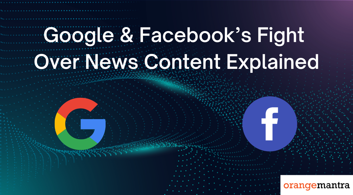 Google And Facebook Are Fighting