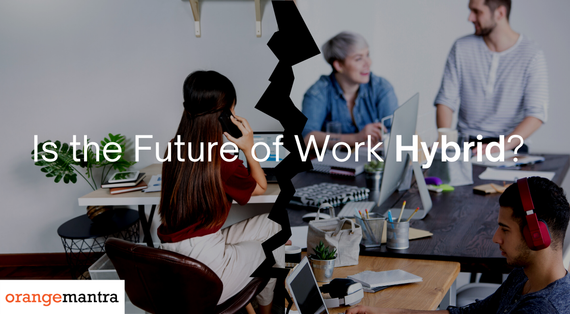 How a Shift from Remote Work to Hybrid Work Is Redefining Offices