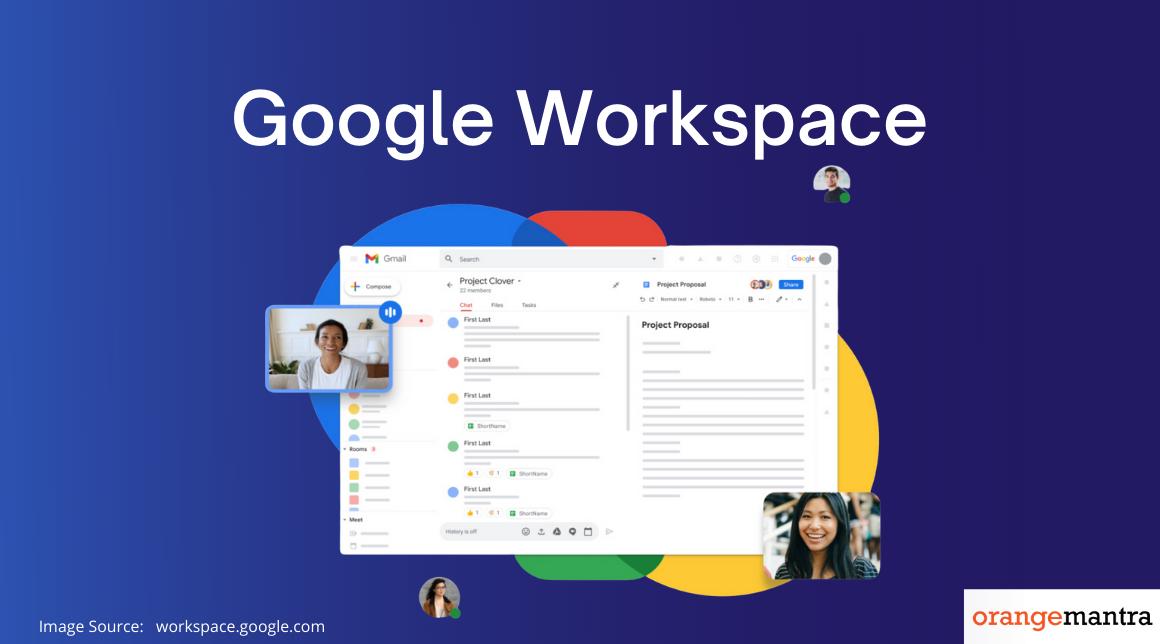 Google Workspace Apps
