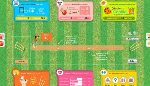 Employee Gamification Application