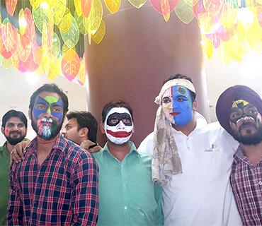 celebration at orangemantra