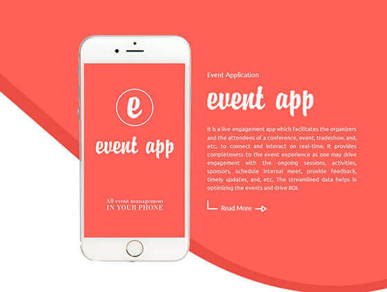 event-application