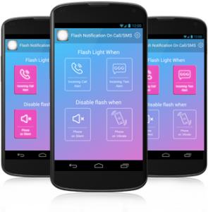 flash notification application
