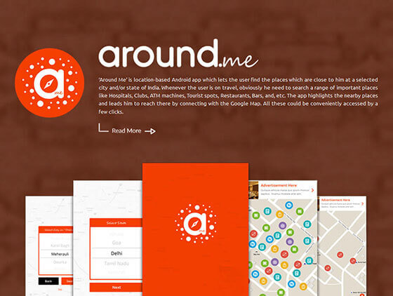 aroundme-application