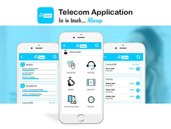 telecom-application