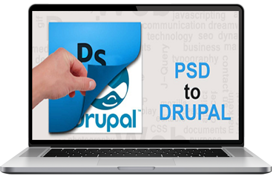 psd to drupal theme developent