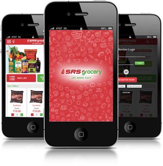 SRS Grocery App