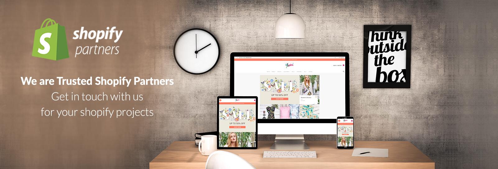 shopify development & customization services