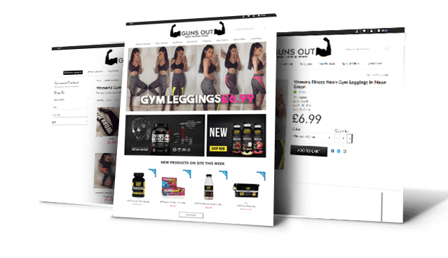 Gunsout E-commerce Development