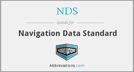 Navigation Data standard