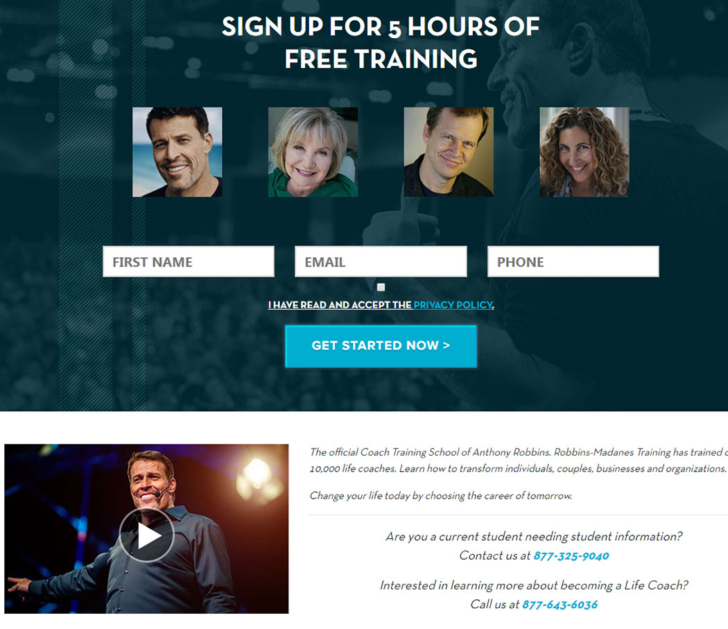 Community For Tony Robbins