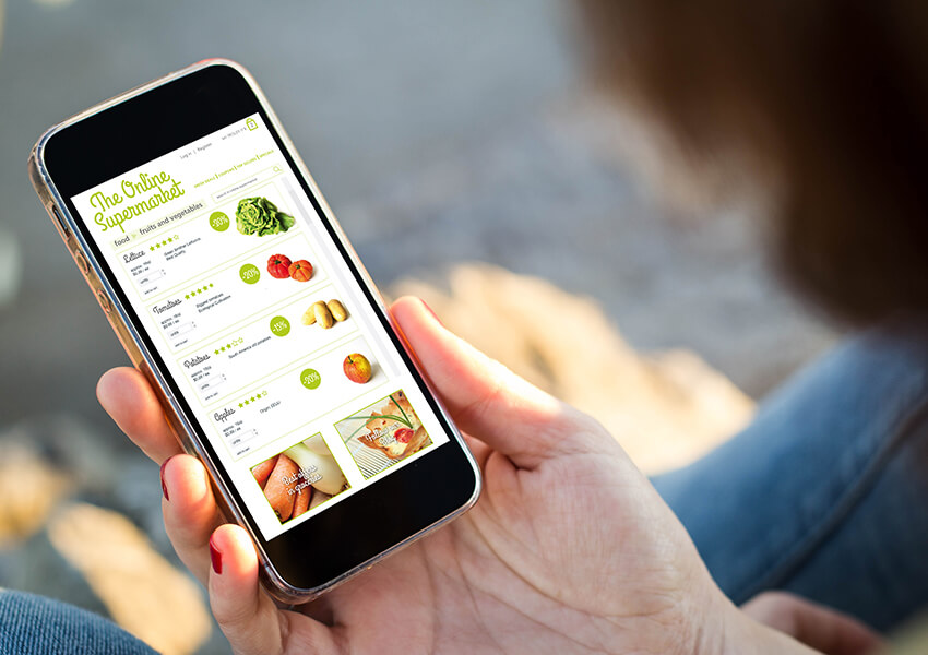 eCommerce Apps for Grocery Shops & Retail Chains